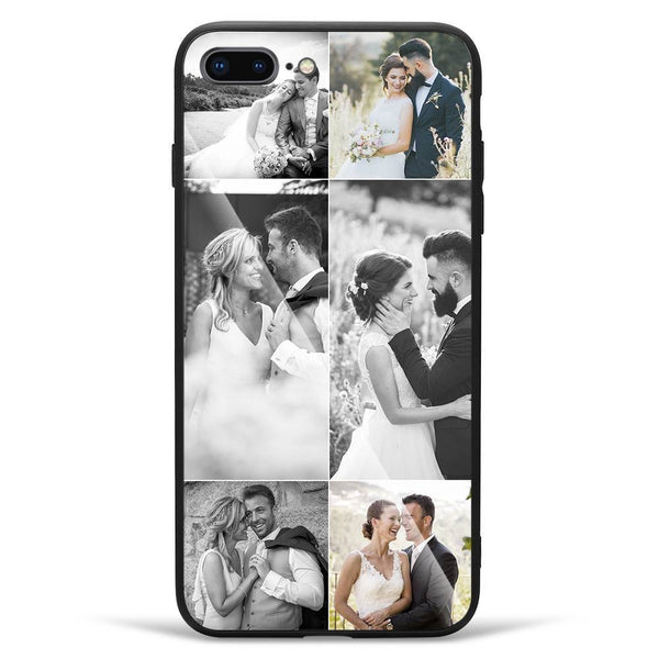 iPhone7p/8p Custom Glass Surface Photo Phone Case - 6 Pictures