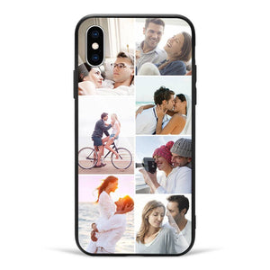 iPhoneX Custom Glass Surface Photo Phone Case - 7 Pictures