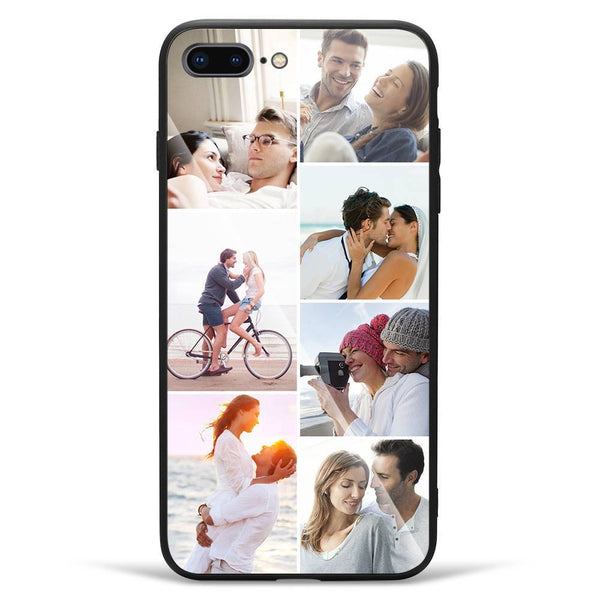 iPhone7p/8p Custom Glass Surface Photo Phone Case - 7 Pictures