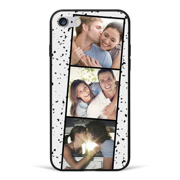 iPhone6/6s Custom Photo Phone Case - 3 Pictures