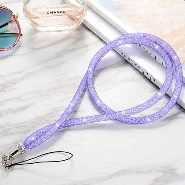 Mobile Phone Rope, Phone Strap Purple