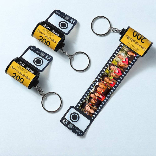 Custom Camera Film Roll Keychain Congrats Grad Customized Gifts