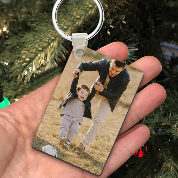 Custom Photo Keychain Memorial Gift Decorations