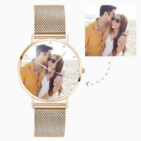 Unisex 40mm/1.57in Diameter Custom Photo Watch Special Alloy