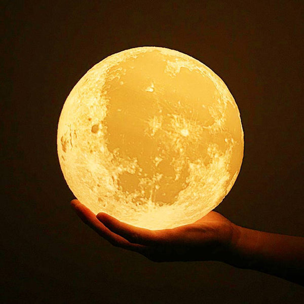 Pat 3 Colors - Engraved Moon Lamp