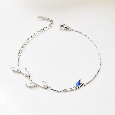Aqua-Marine: The Bracelet -Love Name Necklace