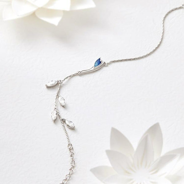 Aqua-Marine: The Bracelet -  Love Name Necklace