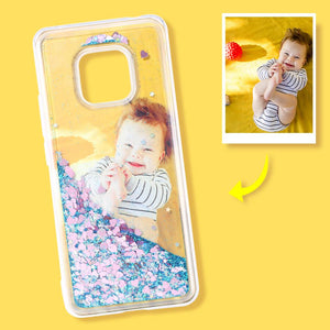 Huawei Custom Quicksand Photo Phone Case Huawei Mate20 pro