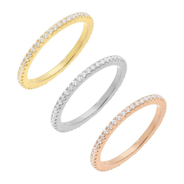 Trio Band Ring Set