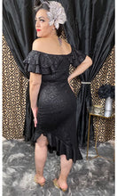 Load image into Gallery viewer, Señorita Linda Dress - Black