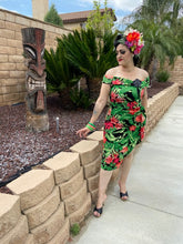 Load image into Gallery viewer, Valentina Dress - Tropical Leaves
