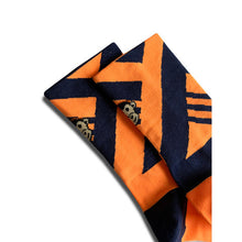 Load image into Gallery viewer, Monkey Sox Classic X6 Orange & Navy