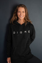 Load image into Gallery viewer, Women's Digme Black Hoodie