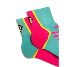 Load image into Gallery viewer, Monkey Sox Ultra X1 Pink & Turquoise