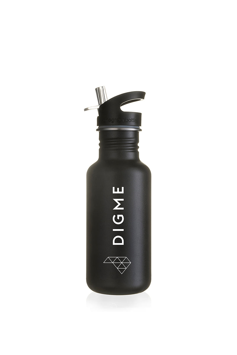 Digme Black One Green Bottle