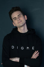 Load image into Gallery viewer, Men's Digme Black Hoodie