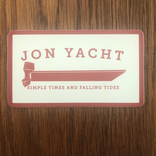 Jon Yacht Simple Times