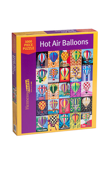 Hot Air Balloons 1000 Piece Jigsaw Puzzle - Because business IS personal Hennessy Puzzles