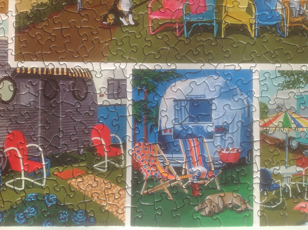 Vintage Trailer Jigsaw Puzzle - Because business IS personal Hennessy Puzzles