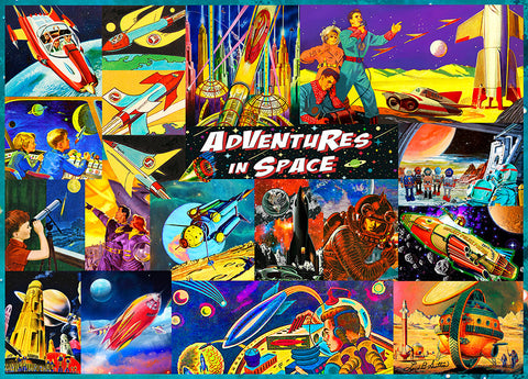 Retro Space Travelers - Hennessy Puzzles