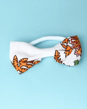 Bow with elastic for hair - Chafé