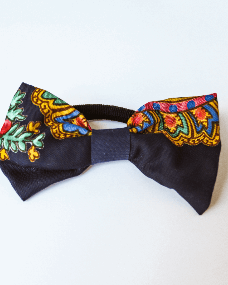Bow with elastic for hair - Perre