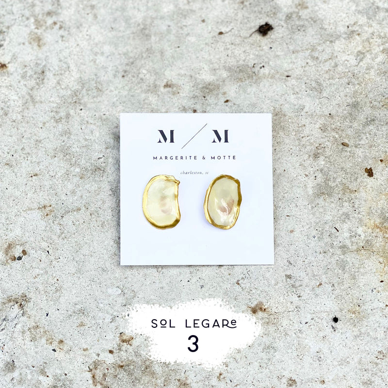 Duchess Stud Earrings - Sol Legare