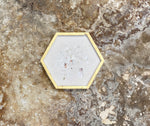 Classic Oyster Coaster Set - Hexagon