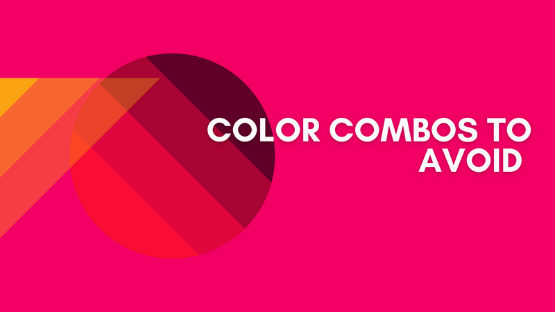 The Worst Red and Black Color Combinations for Logos or Brand Design