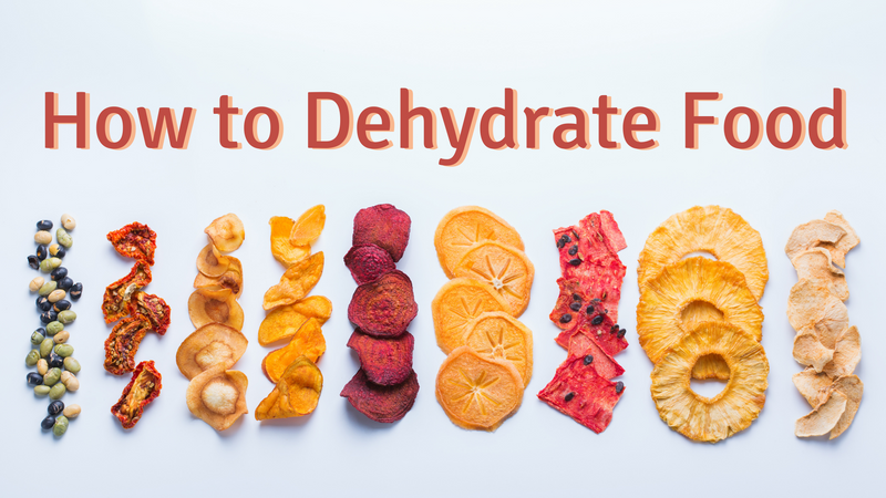 How to Dehydrate Fruits, Vegetables and Meats for Long Term Storage