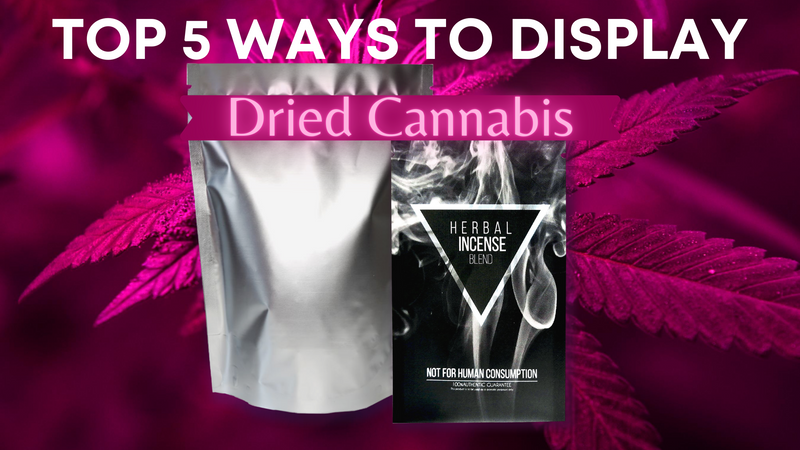 Top 5 ways to Display cannabis in Stores