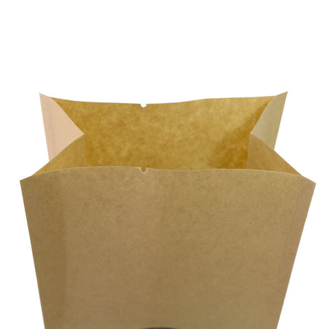 107 Featured Bag of The Day - Kraft Popcorn Bags with Window - Material