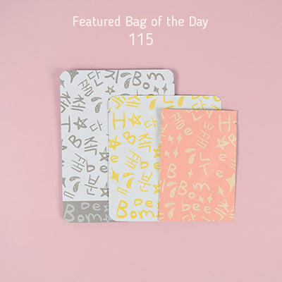 Featured Bag of the Day - 115 Series Korean Beauty Packaging Bag
