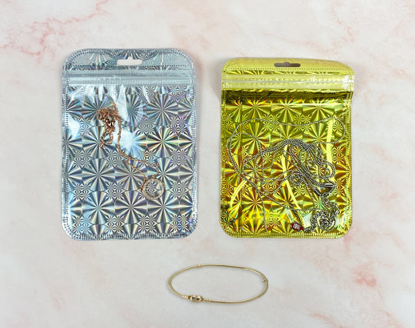Shiny Pouch Recommendation for DIY Jewelry Gifts