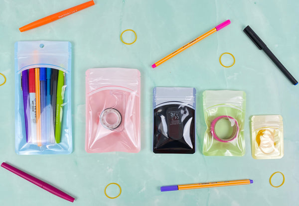 Colorful Packaging for Office Supplies