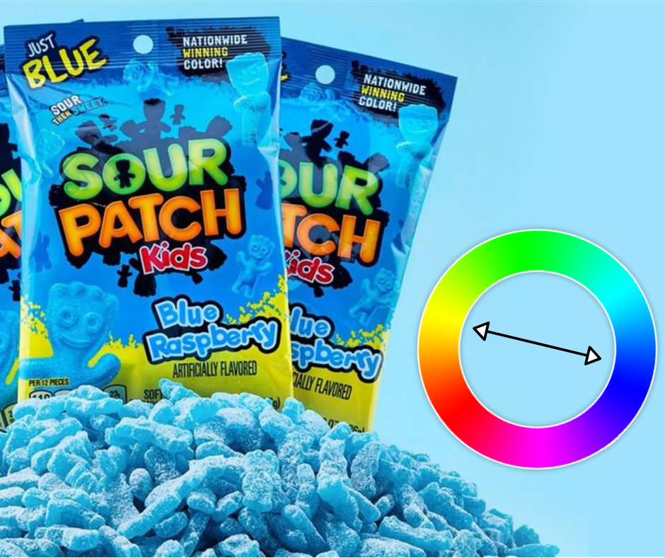 Why Gradient Colors are Smart for Confectionery Businesses: Sour Patch Kids