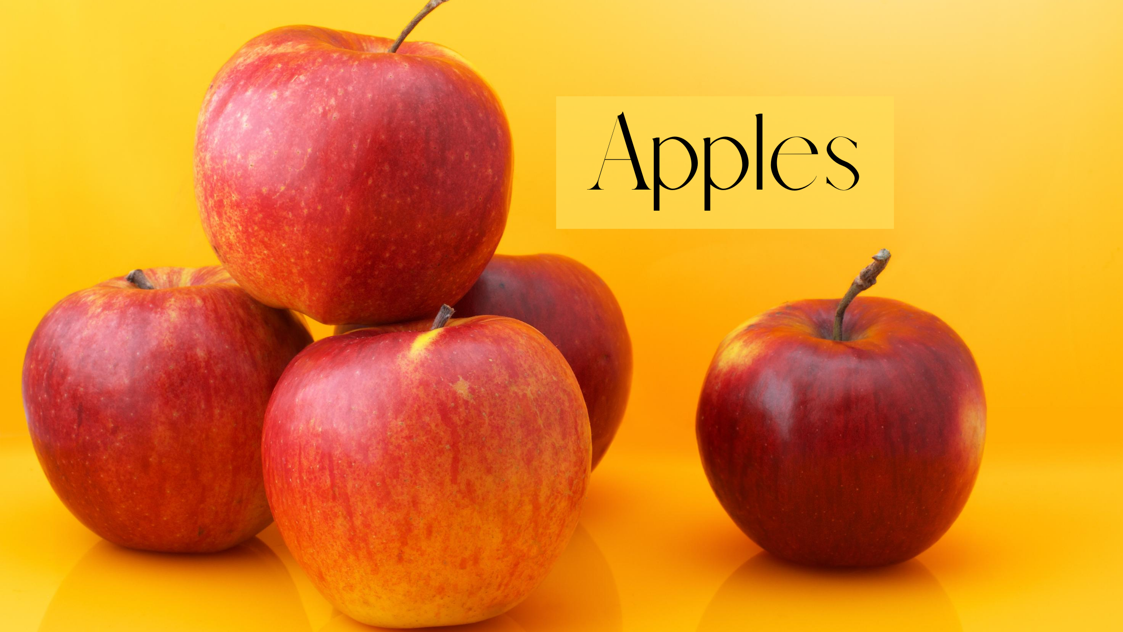 Five Healthy and Unhealthy Food Ingredients to Eat: Apples