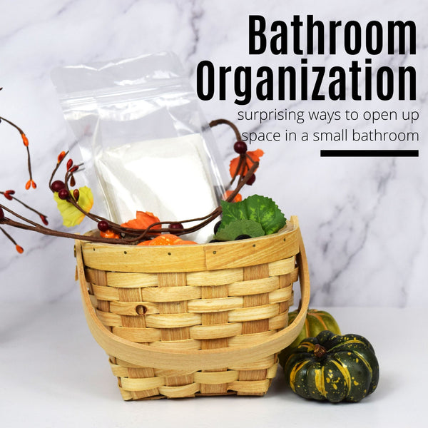 Recommendations for Organization in a Small Bathroom
