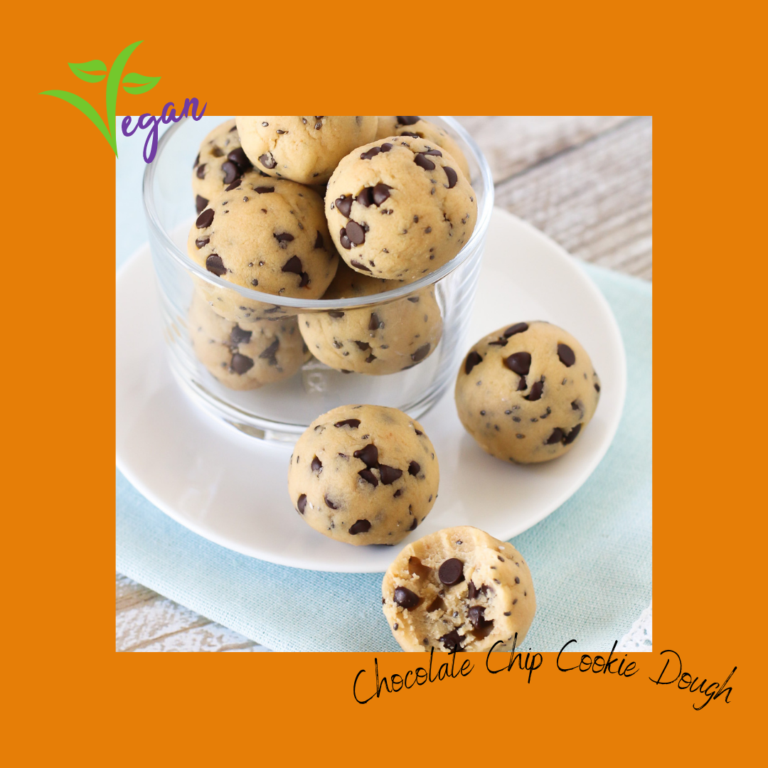 Best Vegan Snacks to Sell: Chocolate Chip Cookie Dough
