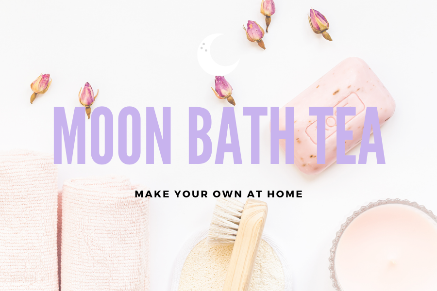 How to Make Your Own Full Moon Bath Tea