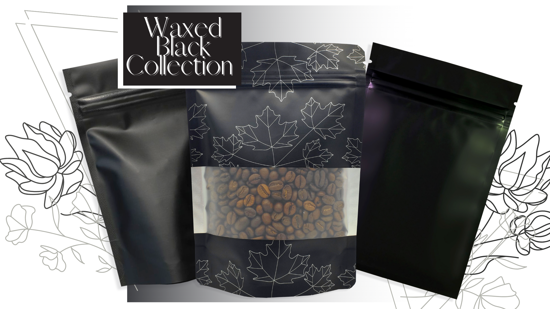 History of Black: Waxed Black Collection