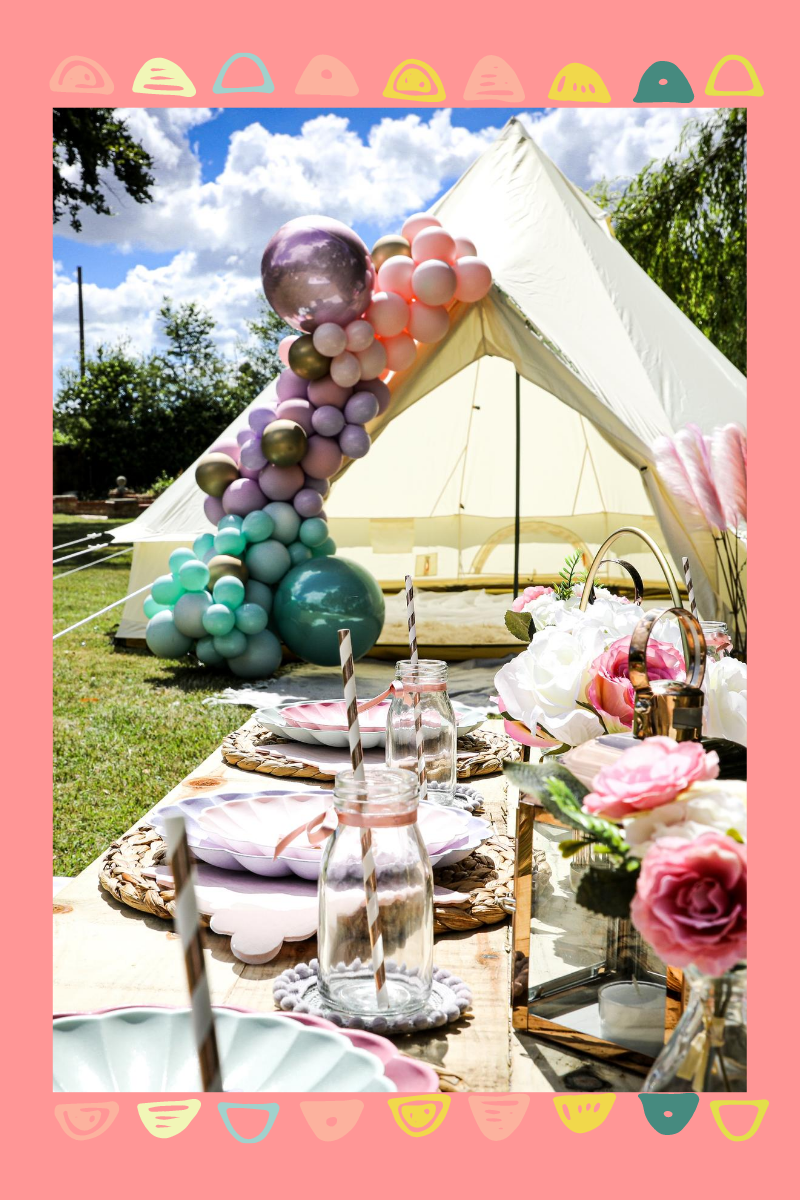 Top 10 Engagement Party Decorations: Party Tent