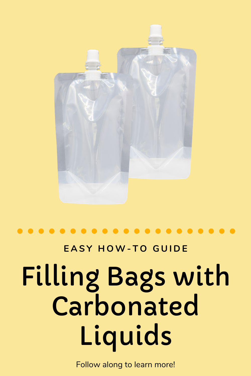 Filling Bags with Carbonated Liquids