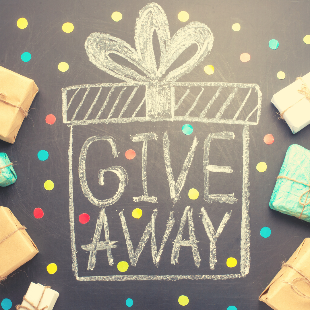 Benefits of Giveaways & Fundraisers: Giveaway Time