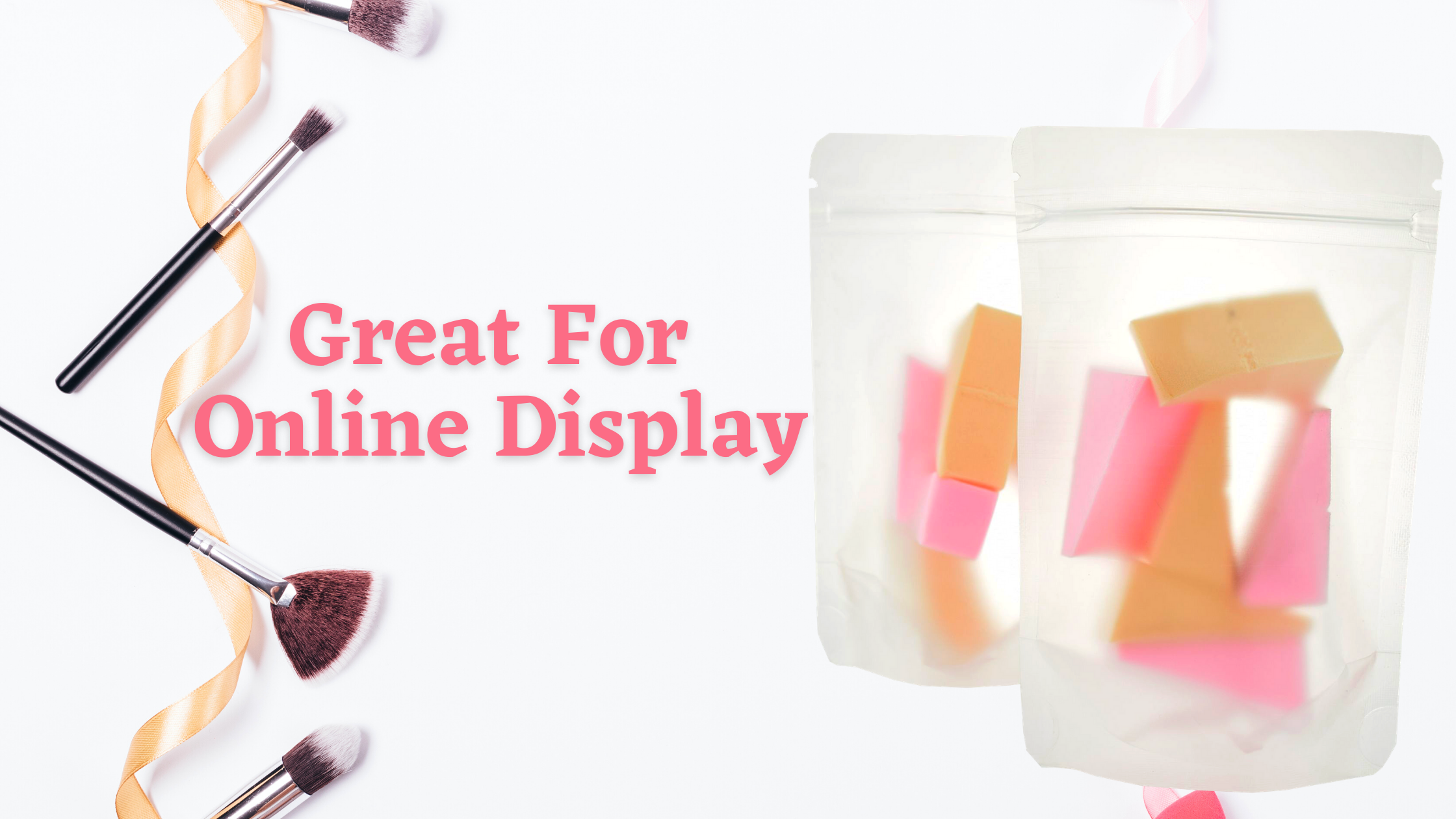 Why Clear Bags Make Beauty Products Stand Out: Great For Online Display