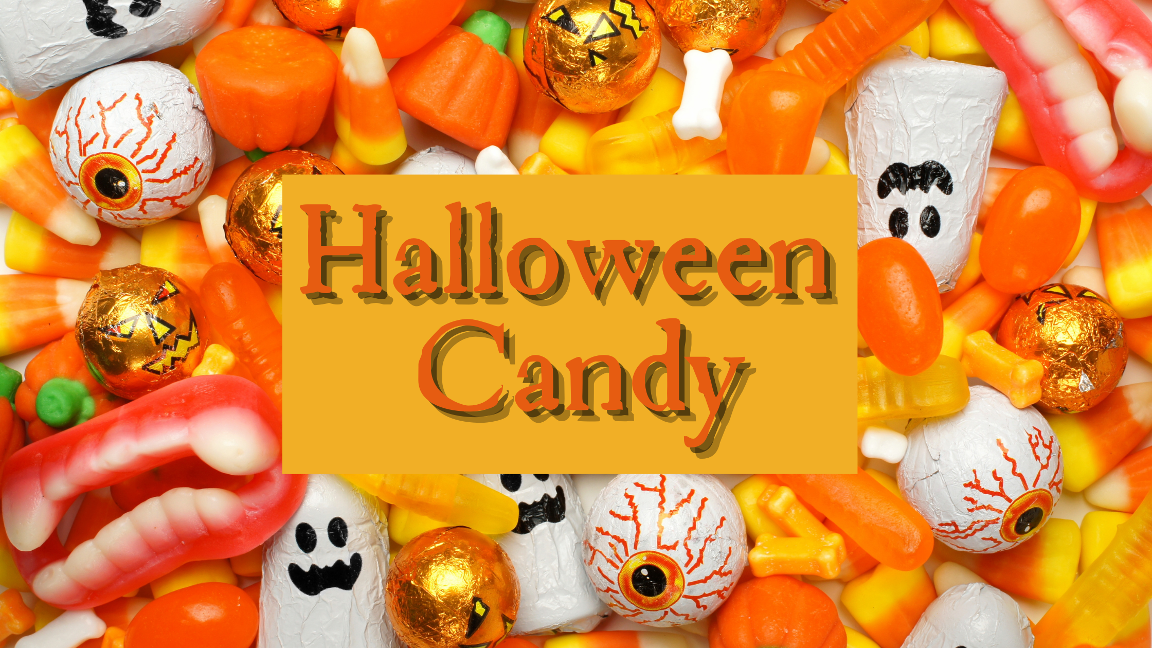 Why Clear Bags are Great for Storing Halloween Treats: Halloween Candy