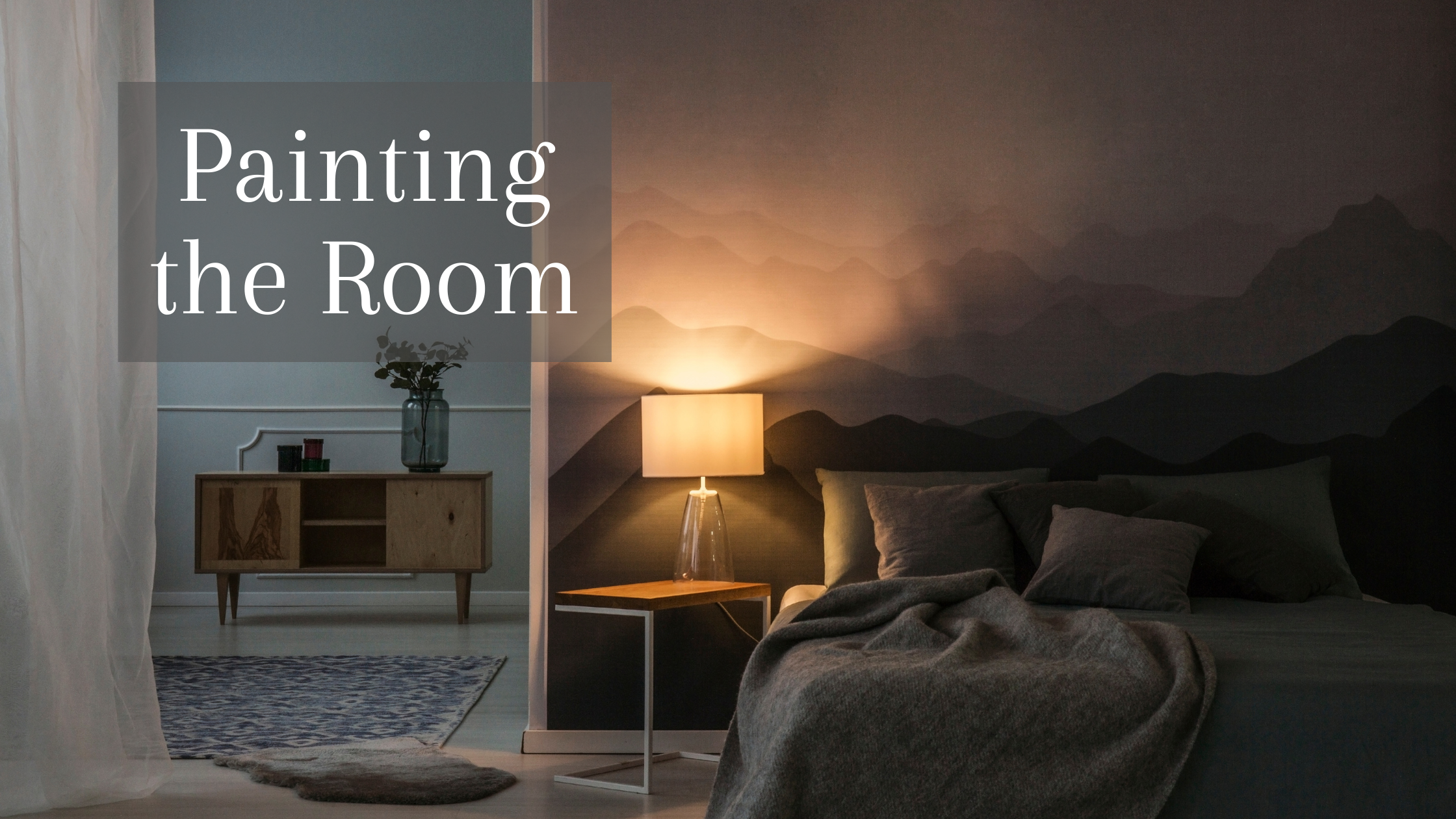 How to Accessorize Your Room with Metallic Colors: Painting the Room