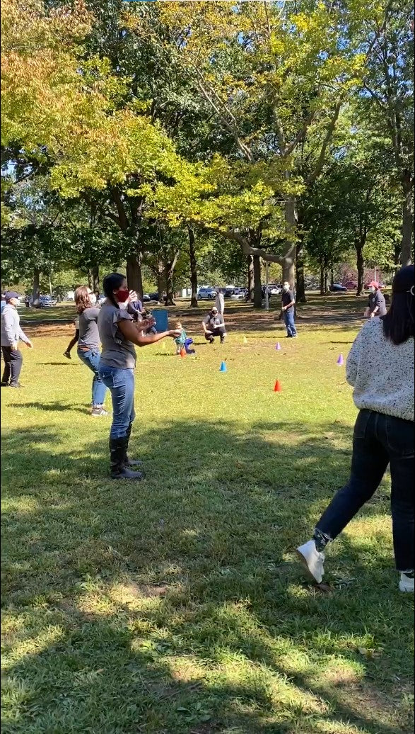 Top 5 Work Event Ideas: Picnic Egg Toss