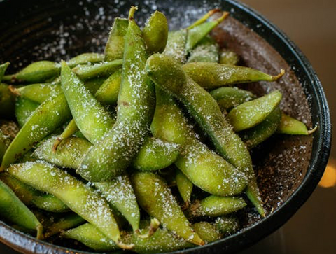 Edamame for Snack Prepping
