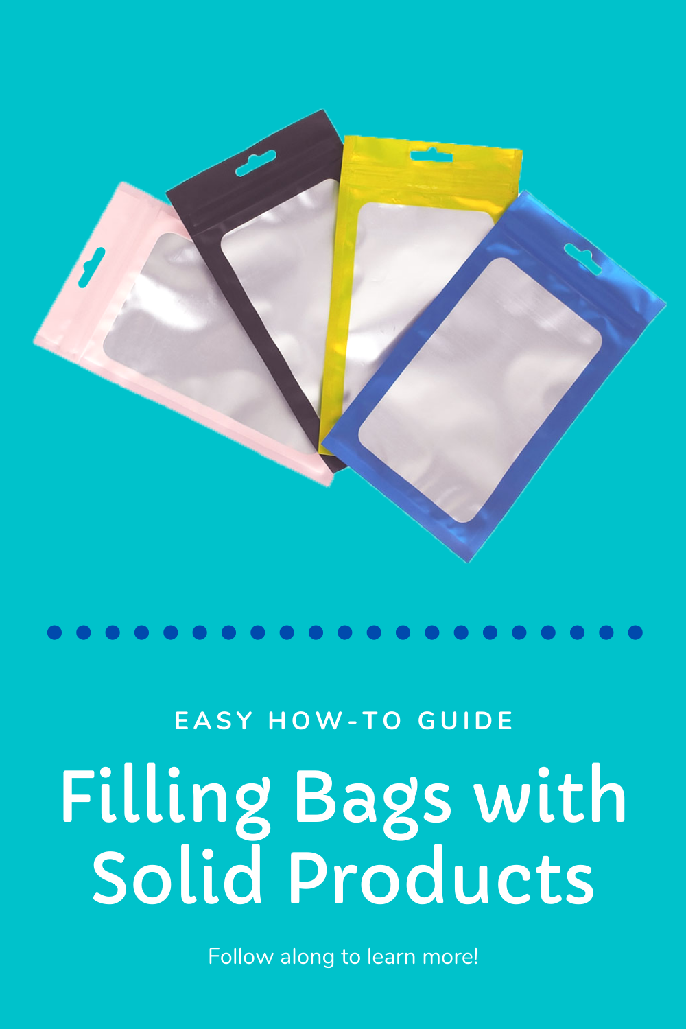 How to Fill Bags with Solid Products